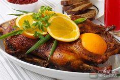 Receita de Pato ao molho de laranja em receitas de aves, veja essa e outras receitas aqui!