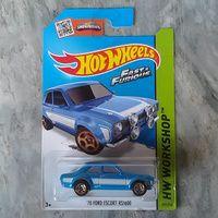 Hot wheels Ford escort