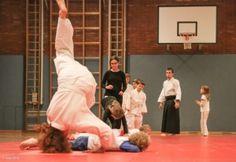 Aikido-Kindertraining in Linz, 07.11.2014 - Ukemi