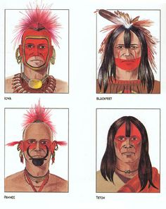 Sioux War Paint