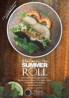 Vietnamese Rice paper rolls... yum The Artistry — Rolls Vietnam