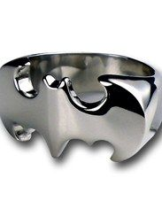 Batman Chromed Die Cut Symbol Ring