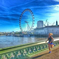 Big Eye . #Photo @thefitwanderluster  Goodbye #London . Welcome to #RunnerLand  Lets follow us / Tag #RunnerLand on your photos / Turn on our post notifications for featured  .