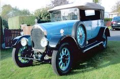 The Blue Peter Humber Tourer Chassis no. Classic Bikes, Classic Cars, Vintage Cars, Antique Cars, Blue Peter, Motor Company, Coaches, Old Cars, Motor Car