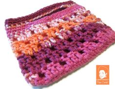 Crochet Kids Purse  Crochet Kids Tote  Cute Girls by DopeCrochet, $13.00