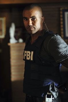 Shemar Moore...there's more than one reason why I like to watch re-runs of Criminal Minds...over and over...