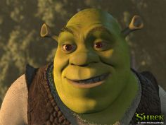 Mike Myers as Shrek in a comedic monologue for kids from the film Shrek, 2001 Shrek, Dreamworks Animation, Animation Film, Disney Movies, Disney Pixar, Monologues For Kids, Man Of Mystery, Shark Tale, Eddie Murphy