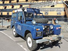 Old Royal Navy Rescue Land Rover