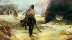 Dune - Fremen 1, simon goinard on ArtStation at https://www.artstation.com/artwork/dune-fremen-1