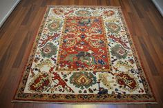 146 On Sale* New Anatolian Turkish Rug OUSHAK 5.0×6.3**150×193 ushak