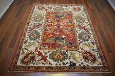 146 On Sale* New Anatolian Turkish Rug OUSHAK 5.0×6.3**150×193 ushak