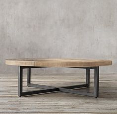 Torano Salvaged Round Coffee Table