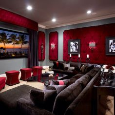 Media Room Design Ideas, Pictures, Remodels And Decor Media Rooms, Tv Rooms,