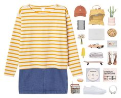 """I see the universe inside of you"" by nauditaolivia ❤ liked on Polyvore featuring Monki, Fjällräven, Paperchase, CO, KEEP ME, H&M, adidas Originals, women's clothing, women's fashion and women"