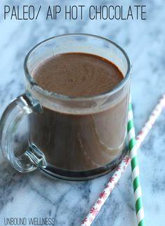 Paleo Autoimmune Protocol Hot Chocolate - based on carob and coconut milk Autoimmun Paleo, Paleo Treats, Paleo Recipes, Paleo Food, Sweet Recipes, Cake Mug, Autoimmune Diet, Aip Diet, Paleo Dessert