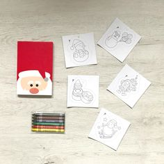 Kit navideño para pequeños artistas Kit, Party, Christmas, Crayons, Parties Kids, Presents, Xmas, Artists, Drawings