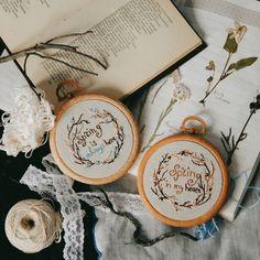 3,296 вподобань, 8 коментарів – Ellen Tyn (@liskin_dol) в Instagram: «Small spring embroideries are available on foxychest.etsy.com . #vsco #vscocam #February #winter…»
