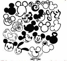 mickey mouse design - Google Search