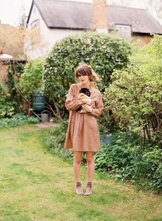 This will be me.  Chilling with my pigs.  On my estate.  Wearing my socks in the yard?