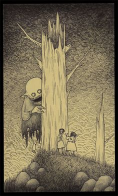 Don Kenn Gallery  monsters drawn on post-it notes