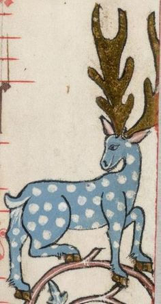 the Luttrell Psalter, medieval manuscript,1325-1340 (detail)