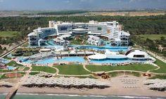Cornelia Diamond Golf Resort & Spa i Antalya, Magnifikt lyxigt All inlusive hotell utöver det vanliga! Här bor du bekvämt precis vid stranden med tillgång till ett enormt poolområde och golfbanorna ligger tätt intill. På hotellet finns gott om aktiviteter och underhållning. Det finns även ett av Turkiets allra bästa spa med hamam.  >>http://www.golfjoy.se/Turkiet_Cornelia.htm