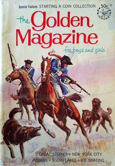 1967 THE GOLDEN MAGAZINE for boys and girls by sandshoebooks, $4.00