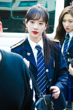 WJSN Seola Kpop Girl Groups, Kpop Girls, Korean Beauty, Asian Beauty, Kim Hyun, Military Women, Yuehua Entertainment, Cosmic Girls, Suit And Tie