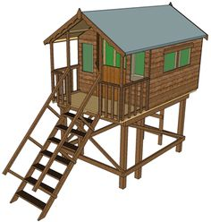 "Garden Sheds Tipperary shiplap summerhouse 6ft x 4ft with 12"" roof overhang | garden"