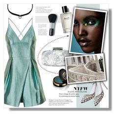 """#214) CALL THE RUNWAY"" by fashion-unit ❤ liked on Polyvore featuring Topshop, Oscar de la Renta, Bobbi Brown Cosmetics, Gucci, DANNIJO, Laura Mercier, NYFW, polyvoreeditorial and newyorkfashionweek"