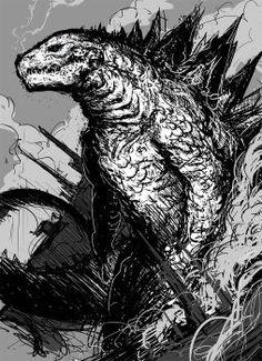 Godzilla vs Evangelion 2 by Abelardo