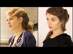 Age of Adaline Hair Tutorial - YouTube