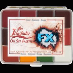 PPI Premiere Products Inc. — Skin Illustrator On Set FX Palette. Great for on set. They also have a whole line of Pocket Pallettes in a Signature Series which is academy award winning makeup artists. www.ppipremiereproducts.com