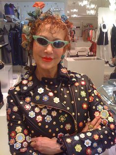 Purely Patricia Fox Rocking Moschino patriciafoxdesign.com #Home #stylist #interior #designer #whimsical #luxury #style #cateye #sunglasses #interiordesign #interiordesigner