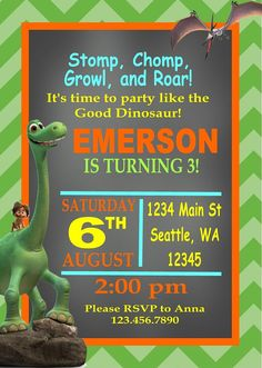 THE GOOD DINOSAUR Inspired Happy Birthday Party by LolosBoutique