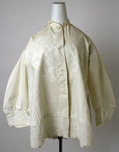 bed jacket 1860s