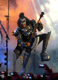 Polly Mace Galbreath...this definitely made me think of you....and about 1984!!!!  Gene Simmons - KISS