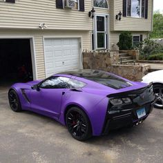 All things Corvette, all the time. VetteTV is the world's premier Corvette enthusiasts entertainment website. Purple Love, Shades Of Purple, Purple Cars, Purple Stuff, Purple Things, Chevrolet Corvette, Supercars, Dream Cars, Car Cost