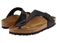 Birkenstock Gizeh Birko-Flor™. My sister has a pair, and she made realize how much I need Birkenstocks!