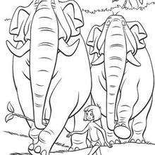 coloring page Jungle Book on Kids-n-Fun. Coloring pages of Jungle Book on Kids-n-Fun. More than coloring pages. At Kids-n-Fun you will always find the nicest coloring pages first! Cool Coloring Pages, Disney Coloring Pages, Printable Coloring Pages, Adult Coloring Pages, Coloring Pages For Kids, Coloring Sheets, Coloring Books, The Jungle Book, Jungle Book Party