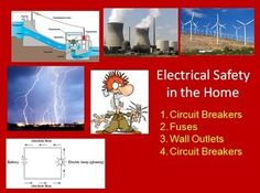 Electrical Safety in the Home - An introduction to electrical safety in the home including the a student and teacher version of the lesson in Power Point format. The Power Point is engaging and applicable and lends itself well to classroom discussions and student home inspections as found in the attached homework assignment.  Please click to view the Preview File.  In order, the lesson covers: - Circuit Breakers - Fuses - Wall Outlets - Circuit Breakers