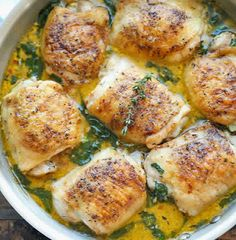 Lemon Butter Chicken ~ Best World Recipes