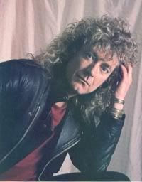 Robert Plant. Always loved his curly hair!