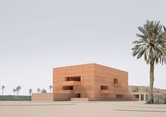 David Chipperfield Architects Museum of Photography, Marrakech