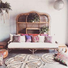 #BohemianHome #inspiration Love this amazing #rustic #LivingRoom space #DesignGoals