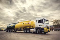 Leading the way in the fuel and energy sector. It's what drives us ™ Sustainable Transport, Transportation, Trucks, Truck