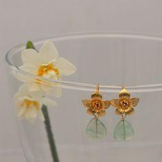 Flor de Azahar baño de oro verde