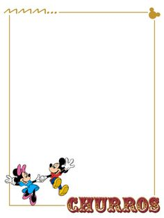 Churros - Minnie and Mickey - Vacation Scrapbook, Disney Scrapbook Pages, Scrapbook Journal, Journal Cards, Scrapbook Cards, Scrapbooking, Life Journal, Disney Diy, Disney Crafts