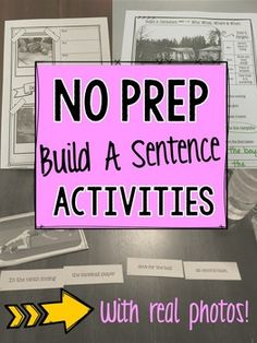 I work with students who are in the 3-5 grade range that are struggling with building more complex sentences. They are also struggling with identifying the who, what, where, when in sentences and when listening to longer story passages. Even when I provided visuals and examples, my students were still struggling with learning the concepts.