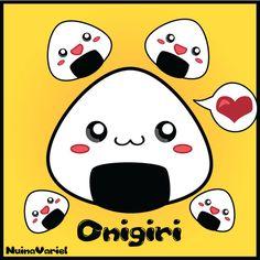 Kawaii Onigiri by HylianJess